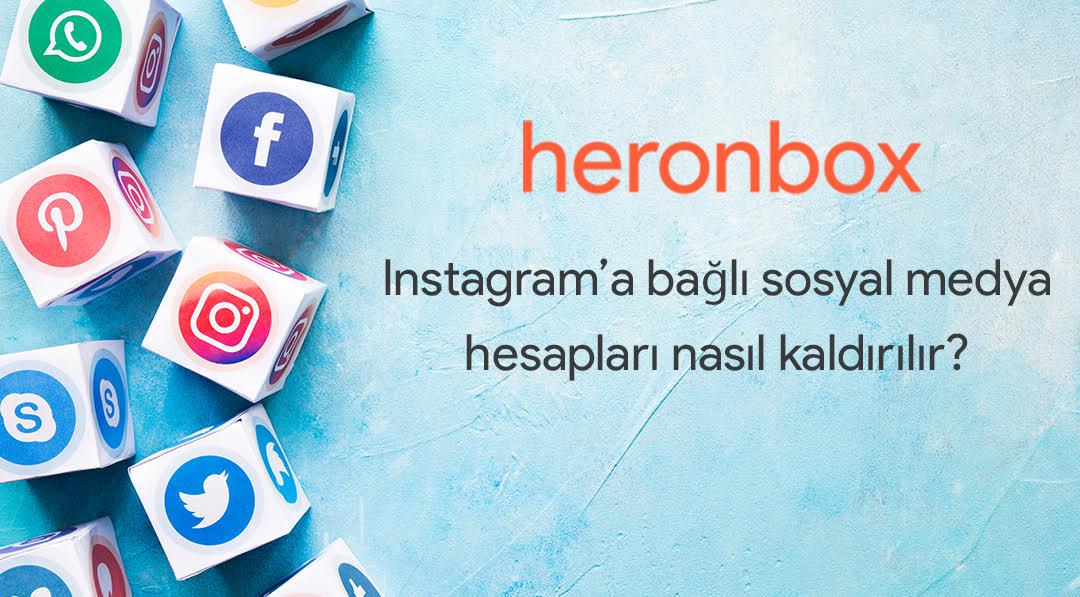 Instagram'a bağlı sosyal hesaplar nasıl kaldırılır?